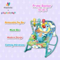 MASTELA Rocker Prime Infant To Toddler / Bouncer / Kursi Bayi - BLUE