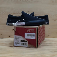 Sepatu Vans Slip On Distort Black ORI Premium BNIB Quality