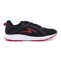 sepatu running specs original lightstreak black red new 2021
