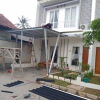 canopy baja ringan atap spandek pasir citayam