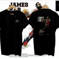 Baju James Harden- Kaos Basket James- Baju Distro - Sos Market