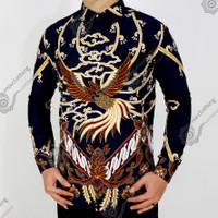 Baju Batik Pria   Kemeja Batik Slimfit   Lengan Panjang   CD150