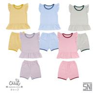 CUIT Setelan Anak Baju Kutung - Celana Pendek Natsu Series