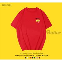 BUTTER ROTI KAOS / T-SHIRT K-POP EDITION / BAHAN KATUN 30S FIT TO XL