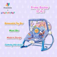 MASTELA Rocker Prime Infant To Toddler / Bouncer / Kursi Bayi - PURPLE