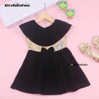 Dress Najwa uk 2-3 Tahun / Baju Pesta Balita Dres Anak Perempuan Gaun