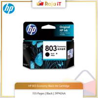 HP 803 ECONOMY BLACK ORIGINAL INK [3YP42AA]