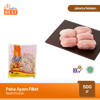 Paha Ayam Fillet 500 gr - Paha Ayam Boneless Tanpa Kulit