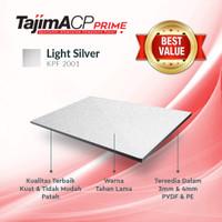 ACP Aluminium Composite Panel TAJIMA 3mm Indoor - Light Silver