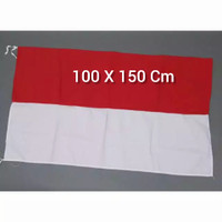 Grosir Bendera Indonesia Merah Putih Bahan Katun Tebal 100x150 cm