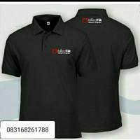 Kaos mikrotik network engineer bordir depan belakang kaos polo shirt