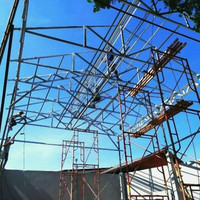 Konstruksi atap baja ringan, Rangka atap zincalume