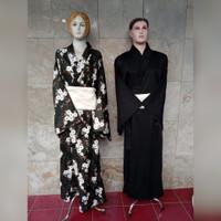 yukata hakama kimono samurai baju tradisional jepang couple