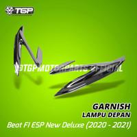 Aksesoris Variasi Garnish Lampu Depan Beat FI ESP New 2020 Deluxe