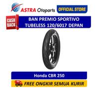 Aspira Premio Sportivo 120/60-17F Tubeless (Depan) (01-SPO-TL120/6017F