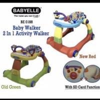 Baby Walker Baby Elle Babyelle 2 In 1 Be0188 Babywalker Bonnieedlyn