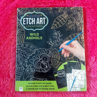 Mini Etch Art Kit: Wild Animals
