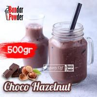 Bubuk Minuman Choco Hazelnut 500gr - Serbuk Minuman Kekinian - BanPow