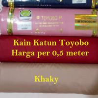 Bahan Kain Toyobo Per 0,5 M Cocok Untuk Baju Koko Dan Seragam Keluarga