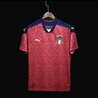 Jersey Baju Bola Kiper GK Timnas Italy Italy 4th 3rd Goal Keeper Merah