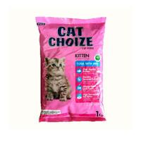 Cat choize kitten tuna . salmon milk 1 kg makanan kucing baby anak