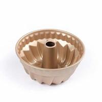 Loyang Bolu Marmer Mini, Cake Pan, Gold Diameter 18cm Premium Quality
