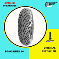 Ban Motor Matic // SWALLOW URBAN GRIP 80/90 Ring 14 Tubeless