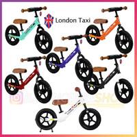 London Taxi Balance Bike Push Bike - Sepeda Anak Balita Original
