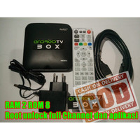 Stb android tv box HG680 Ram 2gb Rom 8gb UHD 4K Unlock