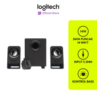 Logitech Z213 Multimedia Compact Wired 2.1 Speaker System