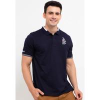 FILA Baju Kaos Polo Pria Sailo - Navy