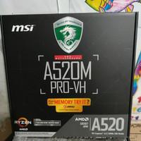 MSI A520M PRO VH AMD SOCKET A4 3rd GEN AMD RYZEN DESKTOP DDR4
