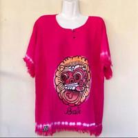 Baju Barong Size Jumbo - Merah Muda, Jumbo