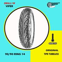 Ban Motor Matic // SWALLOW VIPER 90/90 Ring 14 Tubeless