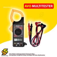 Multimeter AVO Digital Clamp Multitester Avometer Capit Tang Ampere DT