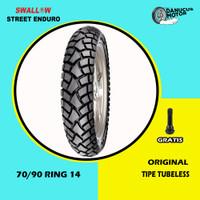 Ban Motor Matic // SWALLOW STREET ENDURO 70/90 Ring 14 Tubeless