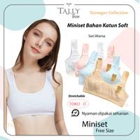 MINISET Step 1 Anak Remaja Double Lapisan TALLY Bamboo Cotton