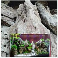 batu fosil pasir untuk aquarium aquascap kemasan 1000gram