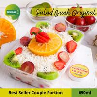 650ml - Salad Buah / Fruit Salad / Salad Cup Box / Cemilan to Go