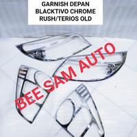Paket Garnish Lis Lampu Toyota Rush Dan Terios Lama