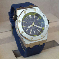 audemars piguet royal oak offshore automatic tanggal stainless steel