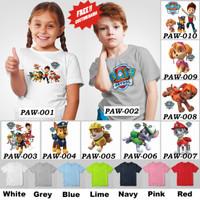 Kaos Anak / Baju Anak Paw Patrol - 10 Motif/Design