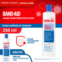 Band Aid Sanitizer Disinfectant 250 ml - Buy 1 Get 1