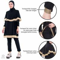 Baju renang muslimah syari Edora sport