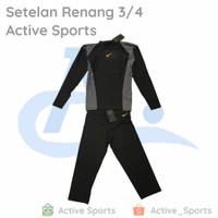 Baju Renang Pria Setelan set ( ada ukuran jumbo ) laki 3/4 - 4, 3L(Jumbo)