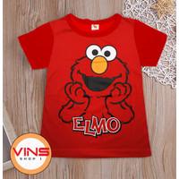 Kaos Baju Anak Laki Laki Elmo Umur 1-12 Tahun