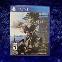 Monster Hunter World Ps4 (bukan fifa 19 nba 2k19 pes spiderman rdr )