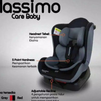Carseat Care Baby Massimo/Kursi Mobil Bayi - Abu-abu