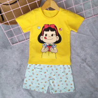 Setelan/Baju tidur import/Baju tidur anak perempuan 4-9th - 80
