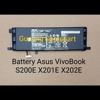 Baterai Asus VivoBook X201 X201E S200E C21-X202 F201 F201E EEE PC F201